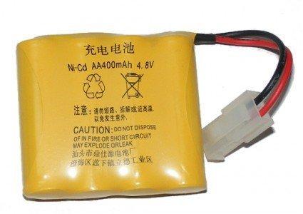 Akumulator NiCd 400mAh 4.8V