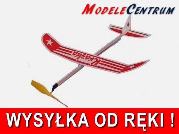 Samolot KRASKA z napędem gumowym