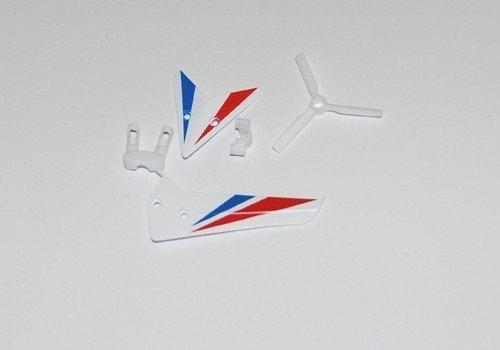 Lotki tylne + śmigło S800G białe0G