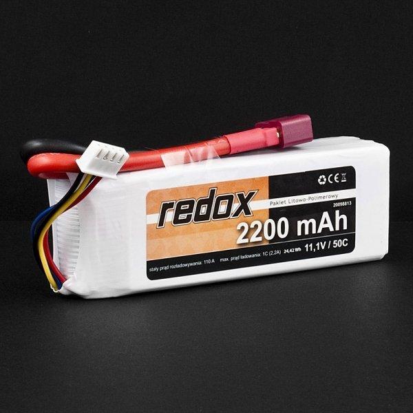 Akumulator Pakiet LiPo Redox 2200 mAh 11,1V 50C