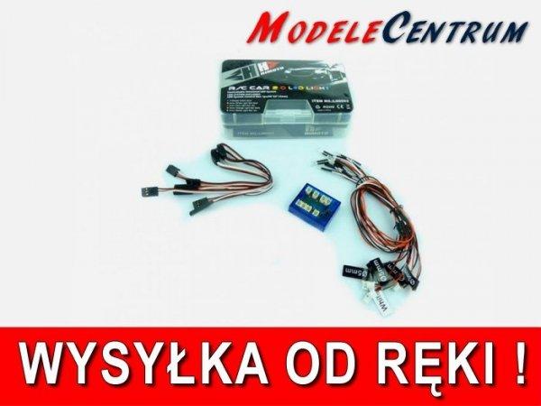 Aktywne oświetlenie Led Light System do modeli aut RC