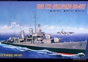 Trumpeter 05731 1/700 USS The Sullivans DD