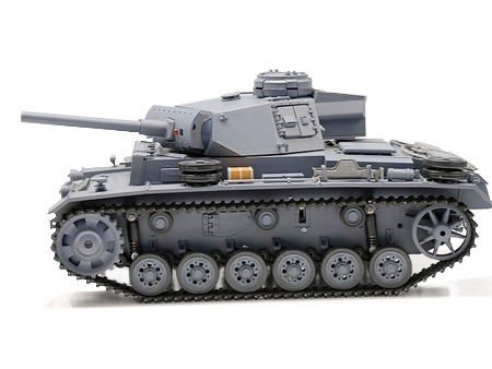 Czołg German Panzer III ausf. L 1:16 Dym Heng Long