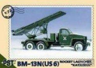 PST 72041 1/72 BM-13N Rocket Launcher Katy