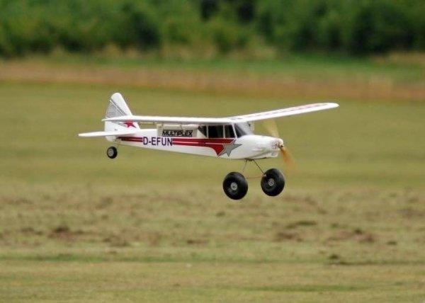 Samolot FUNCUB + aparatura