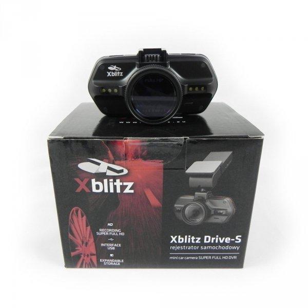 Rejestrator trasy Xblitz DRIVE-S GPS SUPER FULL HD + Karta 16GB