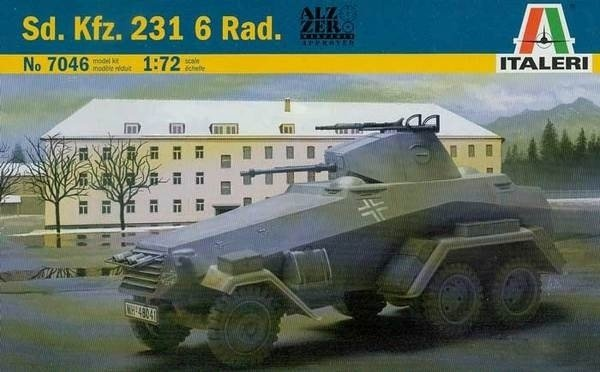 ITALERI  Sd.Kfz.231 6 Rad 1/72  7046