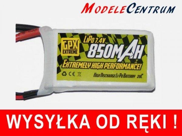 Akumulator GPX Extreme Li-Po 7.4V 850mAh 20C