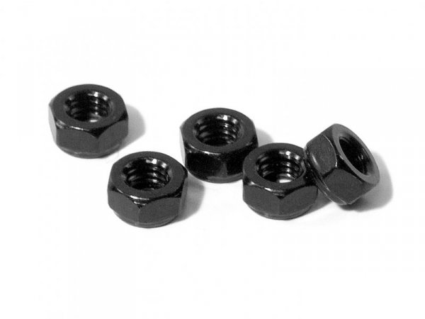 LOCK NUT M6 THIN TYPE (5pcs) Z669
