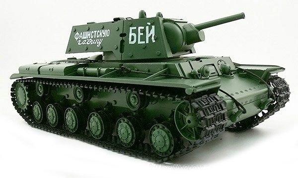 Czołg ciężki KW-1 1:16 + Dym Heng Long