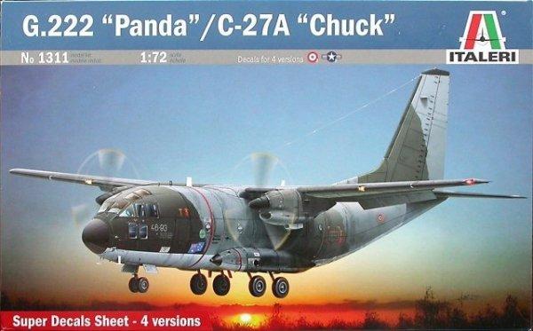 """Italeri 1311 G.222 """"Panda""""/C-27A """"Chuck""""(1/72)"""