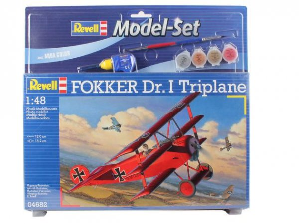 Revell 64116 Model Set FOKKER DR.1