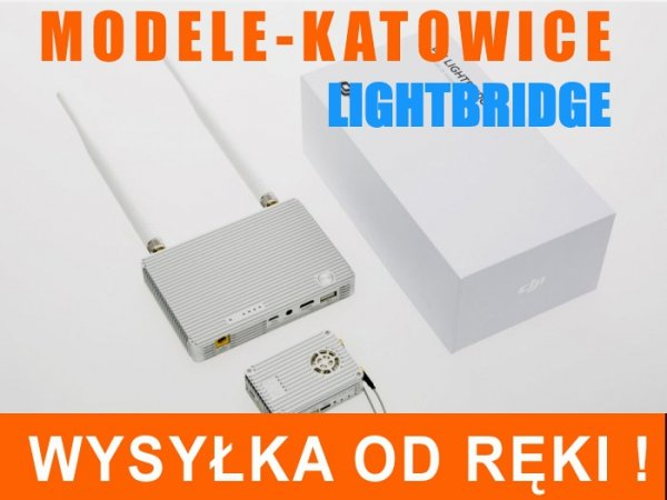 DJI LightBridge 2.4GHz FULL HD FPV z telemetrią