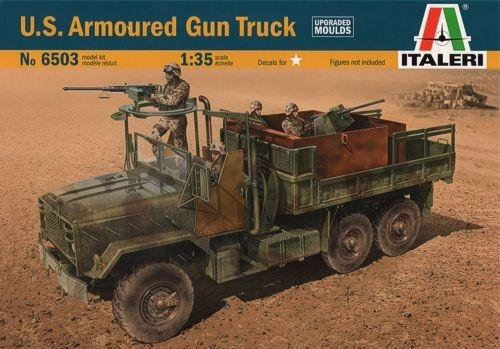 ITALERI 6503 US ARMORED GUN TRUCK