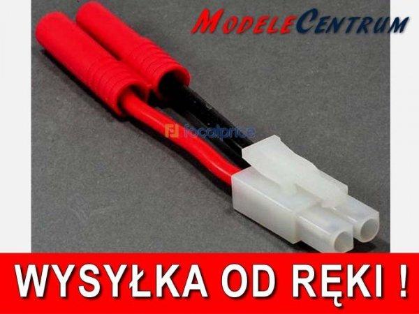 Przejściówka konektor 4mm - TAMIYA wtyk