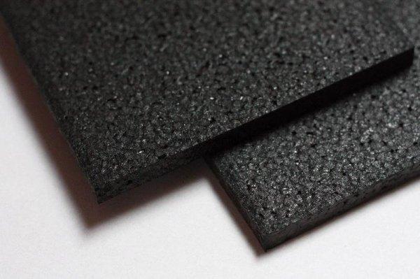 Czarna płyta pianka EPP 600 x 450 x 10 mm