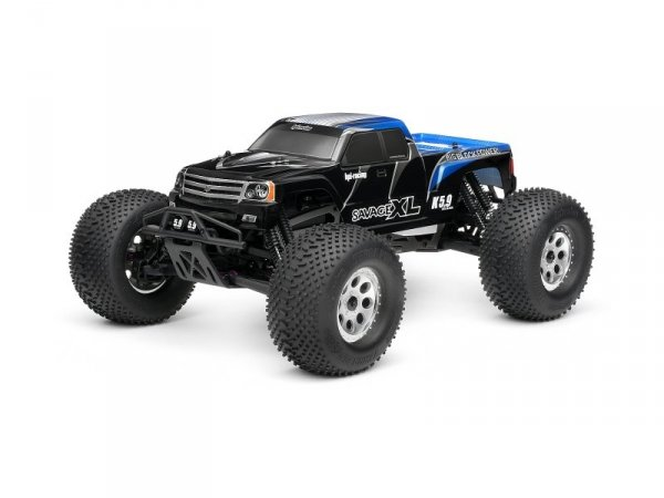 GT GIGANTE TRUCK PAINTED BODY (BLUE) 7750