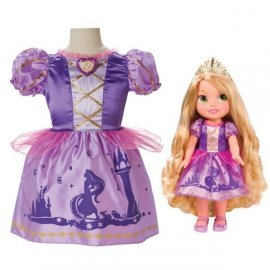 Roszpunka + sukienka dla dziewczynek