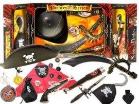 JKM ZA1331 Zestaw PIRATA Korsarz WŁADCA MÓRZ pirat