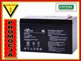 BAT0403 Akumulator żelowy 12V 7,5Ah MaxPower