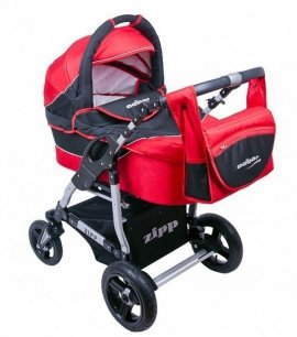 ADBOR ZIPP czarno - czerwony Wózek Wielofunkcyjny