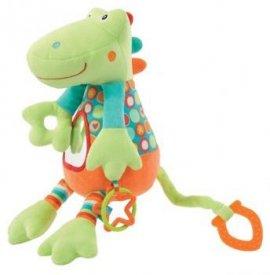 FEHN FE085013 Zabawka wibrująca z lusterkiem - Krokodyl - kolekc