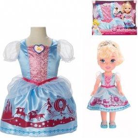 Kopciuszek + sukienka dla dziewczynek