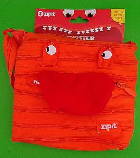 Torebka na ramię Monster pomarańczowa