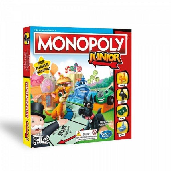 Hasbro Gra Monopoly Junior