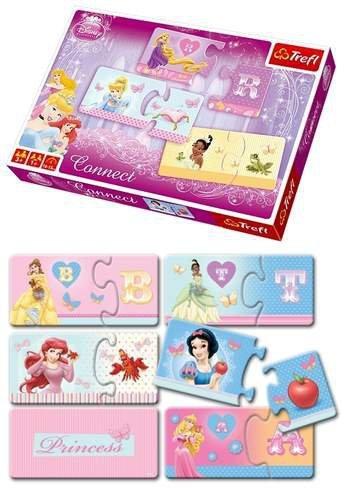 Puzzle Connect Trefl Księżniczki Disney Princess
