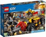 LEGO CITY CIĘŻKIE WIERTŁO GÓRNICZE 60186 5+