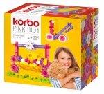 KORBO RUCHOME KLOCKI PINK 110 EL. 4+