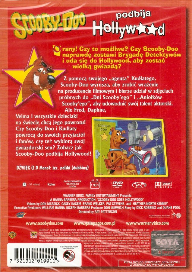 Scooby Doo Goes Hollywood Dvd