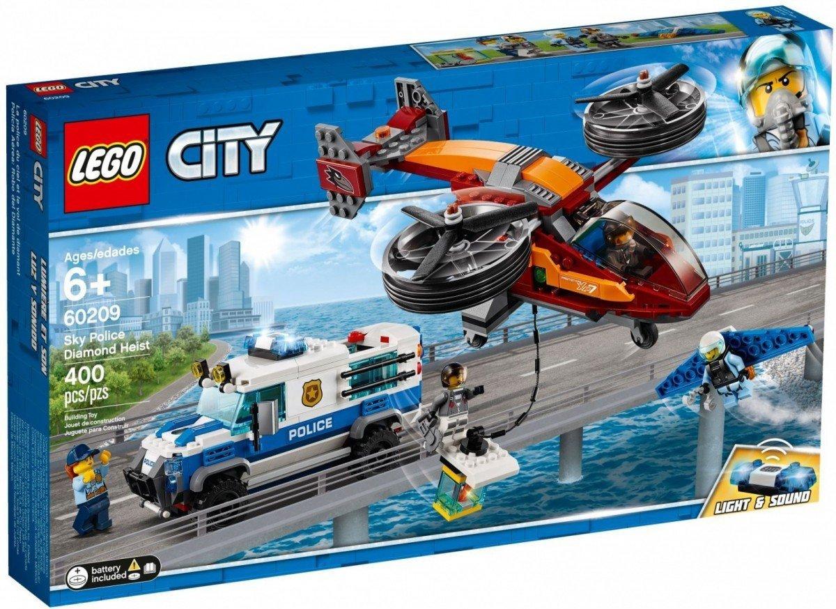 Lego City Rabunek Diamentów 60209 6 City Lego Malakopl