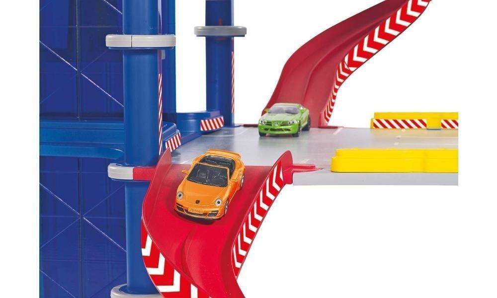 Siku World Parking 5505 3 Domki Garaże Parkingi Pojazdy