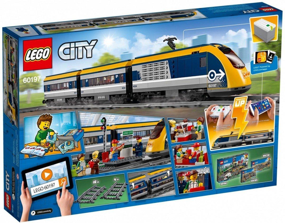 Lego Klocki City Pociąg Pasażerski 60197 6 City Lego Malako