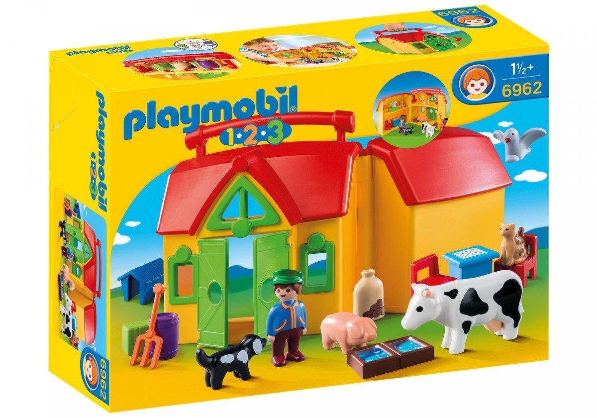 b9881adc774e7d PLAYMOBIL MOJE PRZENOŚNE GOSPODARSTWO ROLNE 6962 18M+ - Playmobil ...