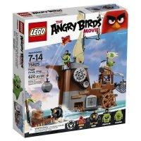 LEGO ANGRY BIRDS STATEK PIRACKI ŚWINEK 75825 7+