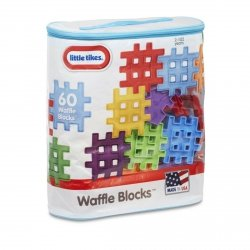 LITTLE TIKES KLOCKI WAFFLE BLOCKS ZESTAW 60 EL. 2+