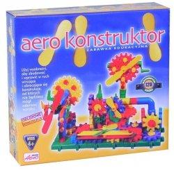 AEROPLAST KLOCKI AERO KONSTRUKTOR 120 EL. 4+