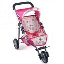 PETERKIN Wózek spacerowy dla lalektrójkołowy