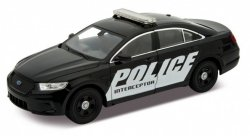 WELLY FORD POLICE INTERCEPTOR CZARNY SKALA 1:24