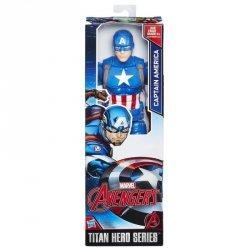 HASBRO AVENGERS TITAN HERO CAPITAN AMERICA 30CM C0757 4+