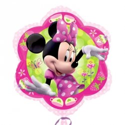 AMSCAN BALON FOLIOWY JUNIOR SHAPE - MINNIE 3+