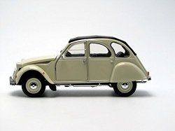 WELLY CITROEN 2CV BEŻOWY SKALA 1:24