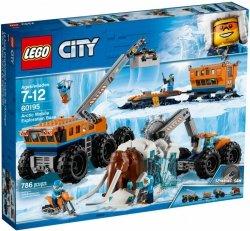 LEGO CITY ARKTYCZNA BAZA MOBILNA 60195 7+