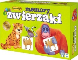 ADAMIGO MEMORY PAMIĘĆ MINI ZWIERZAKI 3+