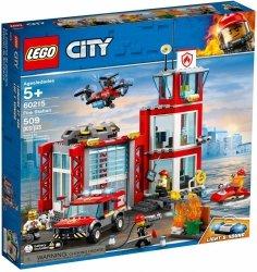 LEGO CITY REMIZA STRAŻACKA 60215 5+