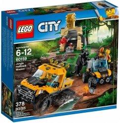 LEGO CITY MISJA PÓŁGĄSIENICOWEJ TERENÓWKI 60159 6+