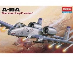 ACADEMY A-10A OPERATION IRAQI FREEDOM SKALA 1:72 8+